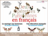 2 OPÉRETTES PARISIENNES