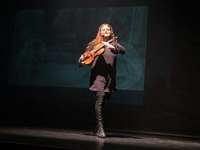 Cecile Bens - le temps d'un violon