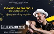 DAVID HABABOU CONCERT LIVE
