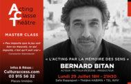 ACTING CLASSE THÉÂTRE – BERNARD BITAN
