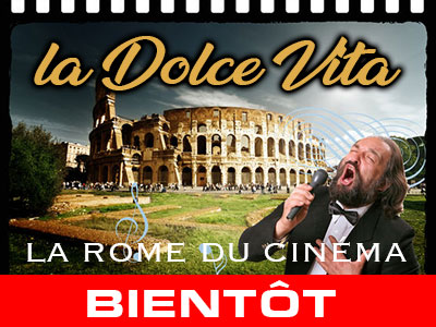 dolce vita - rome du cinema