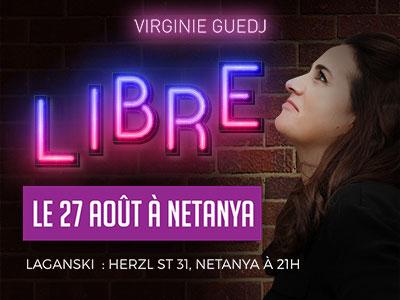 Virginie Guedj - Libre