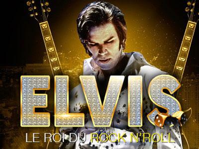 Elvis le roi du rock n'roll