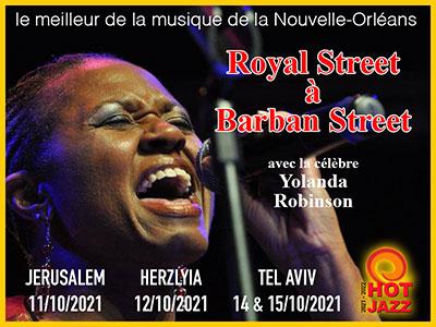 De Royal Street à Barban Street